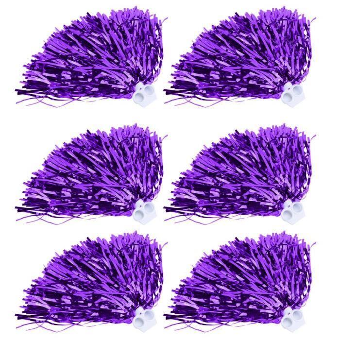 Bal de fleurs de La La Sports Party Dance Accessoires à la mode (violet)