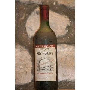 Chateau Puy Faure 1991