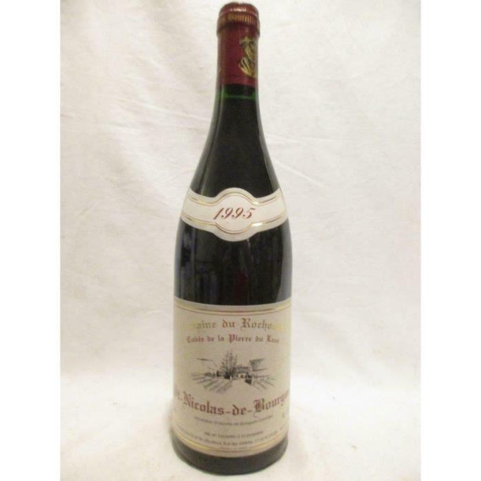 saint-nicolas de bourgueil domaine du rochouard cuvée pierre du lane rouge 1995 - loire - touraine