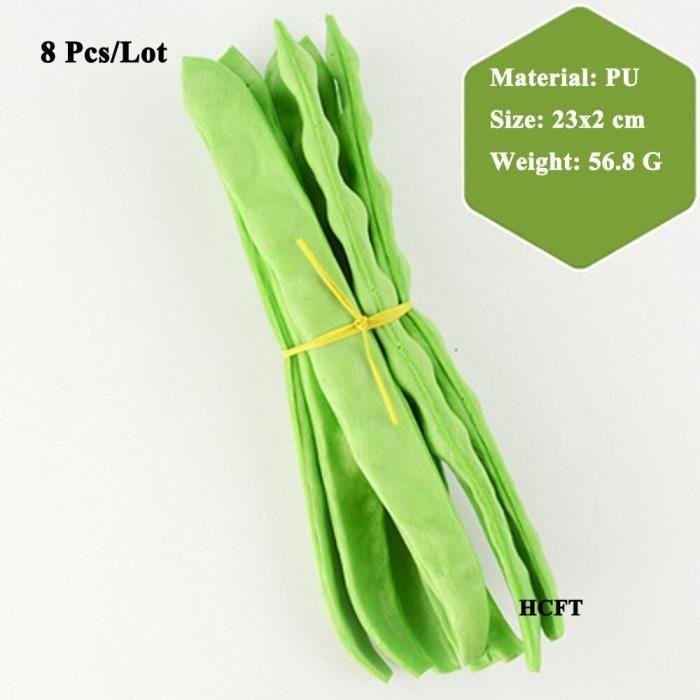 Faux légumes artificiels, pois verts, concombre, poivre, broccoli, chou-fleur, légumes verts, feuilles chinois Design 20 -XUNI6742