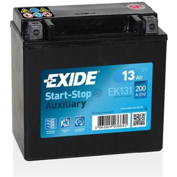 BATTERIE EXIDE AUXILIARY C56 12V 12AH 200A 150X90X145 +G EK131