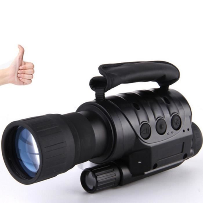 GLAM Télescope Monoculaire Jumelles HD Digital Infrarouge Vision Nocturne Zoom 6X