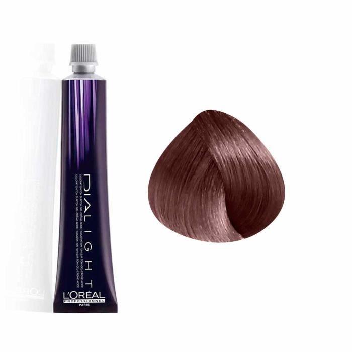 L'Oréal Professionnel Coloration gel crème Ton sur Ton 6.23 - Blond foncé irisé doré Sans ammoniaque, Crème 50ml