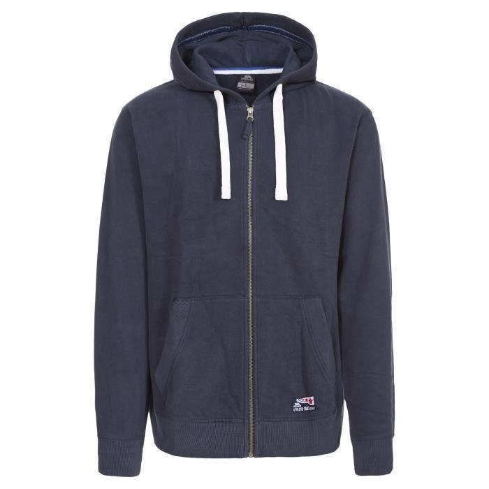 Trespass Wreath - Sweat à capuche zippé - Homme