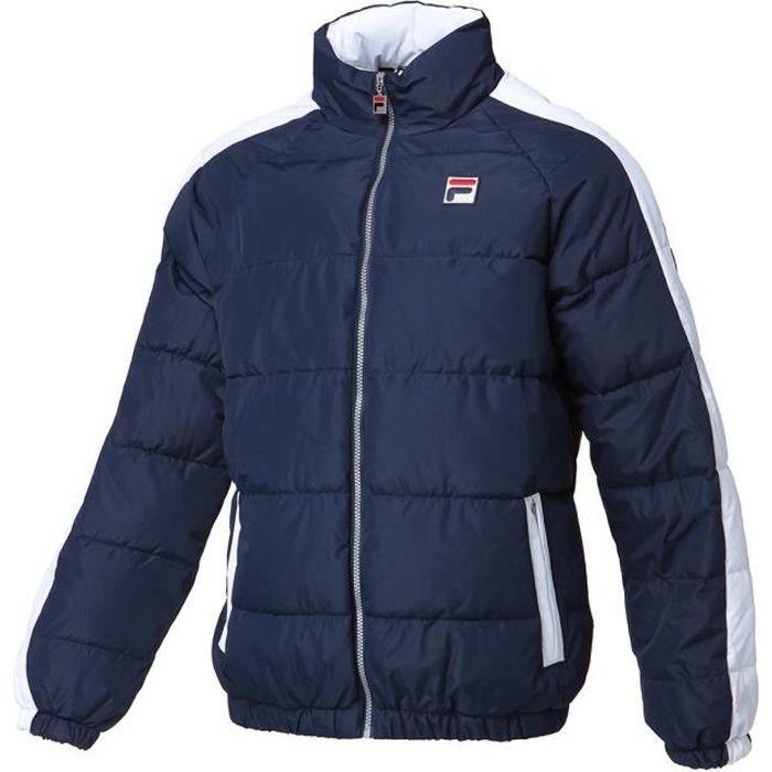 FILA Doudoune Archive Puffa Jacket - Homme - Bleu Marine