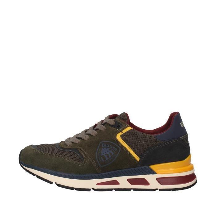 Blauer F0HILO01/SME chaussures de tennis faible homme VERT