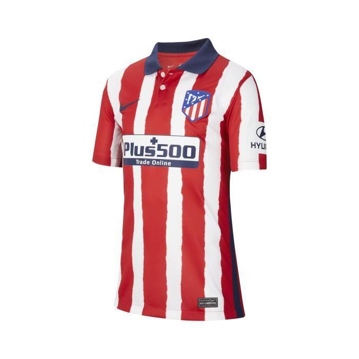 Maillot Atletico Madrid Domicile 2020/2021 Junior 100 % Polyester