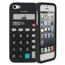 BUMPER - Housse CALCULATRICE IPhone 5 - Orange