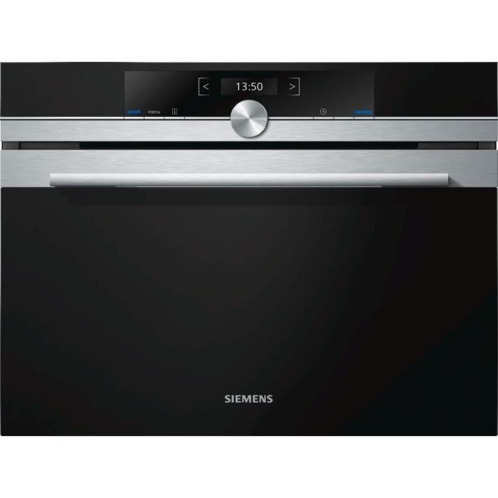 Siemens - micro-ondes encastrable 900w 36l inox - cf634ags1