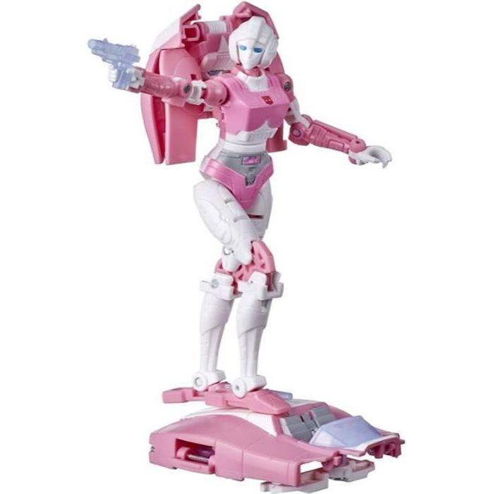 Transformers Generations War for Cybertron - Robot Deluxe Arcee - 14 cm - Jouet Transformable 2 en 1