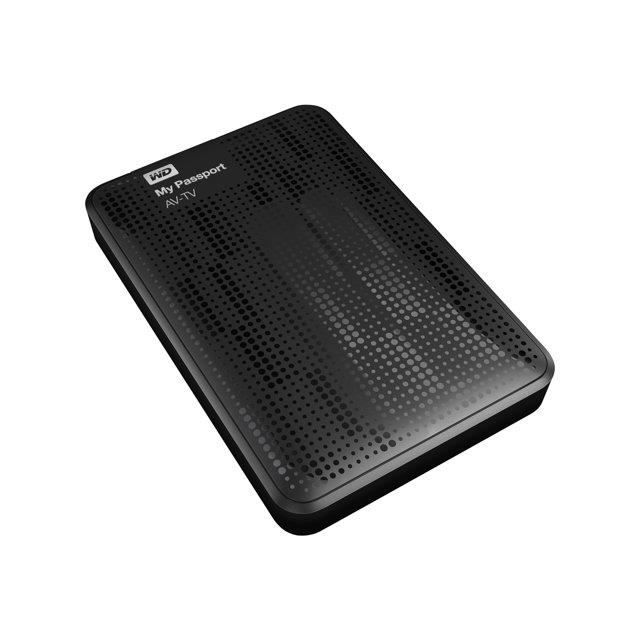 WESTERN DIGITAL Disque dur WD My Passport AV WDBHDK0010BBK - 2.5- Externe - 1 To - USB 3.0
