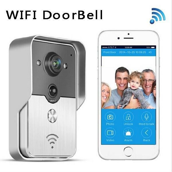 smart phone for ipad tablet wifi wireless doorbell video. Black Bedroom Furniture Sets. Home Design Ideas