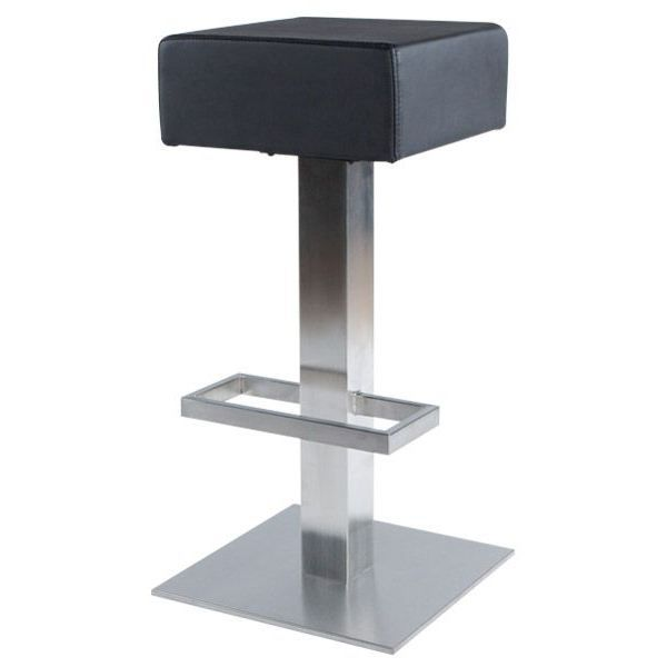 tabouret de bar pied carre
