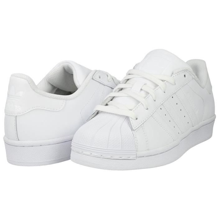 ADIDAS ORIGINALS Baskets Superstar Enfant Garçon Blanc