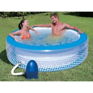 Piscine gonflable autoportante bestway bubbles achat for Achat piscine autoportante