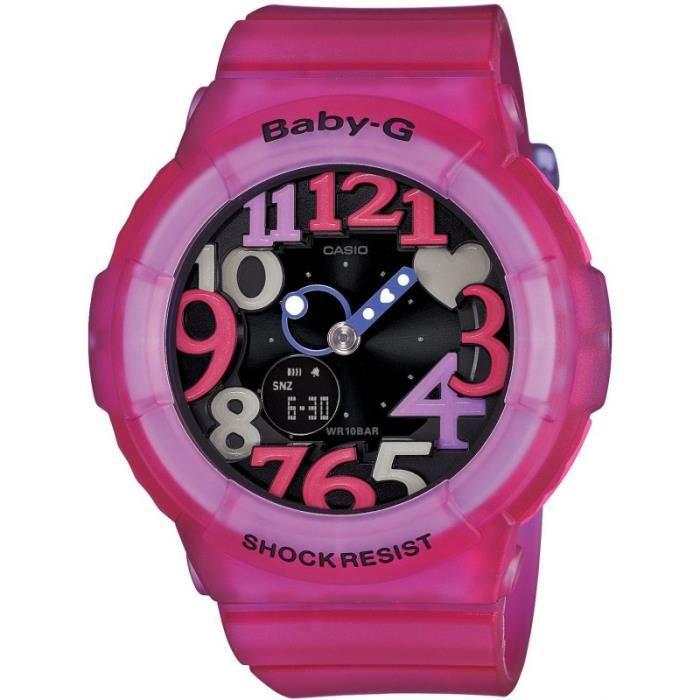 MONTRE Montre Femme Casio BGA-131-4B4JF bracelet résine