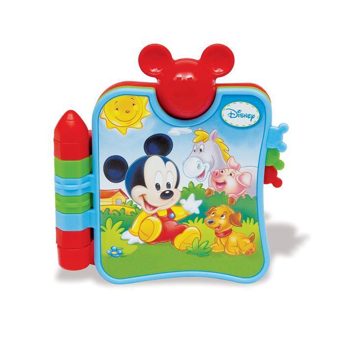 Clementoni Disney Baby Mickey Et Mon Premier Livre Sur Les Animaux Livre Parlant