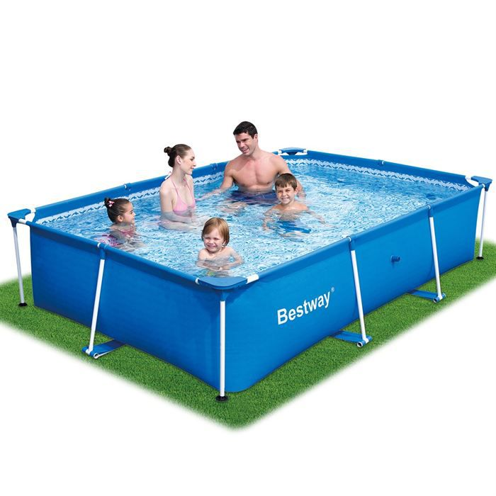 Piscine a structure m tallique 259x170 achat vente for Piscine achat