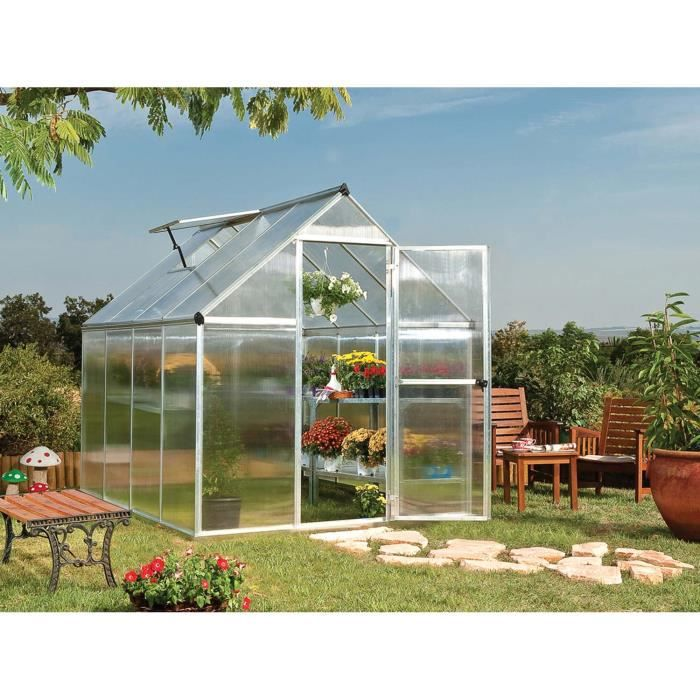 Serre en polycarbonate multiline 4 6 m achat vente for Jardin winery south africa