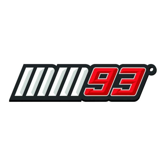 """CASQUETTE PORTE-CLES EN METALLO MARC MARQUEZ """"MM93"""" - OFFICI"""