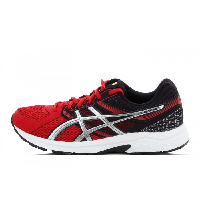 Basket Asics Gel Contend 3 T5F4N 2393 Rouge Achat