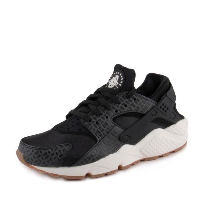 pretty nice new arrivals hot sale Nike Women's Wmns Air Huarache Run Prm Fitness Shoes, Black, 4 Uk ...