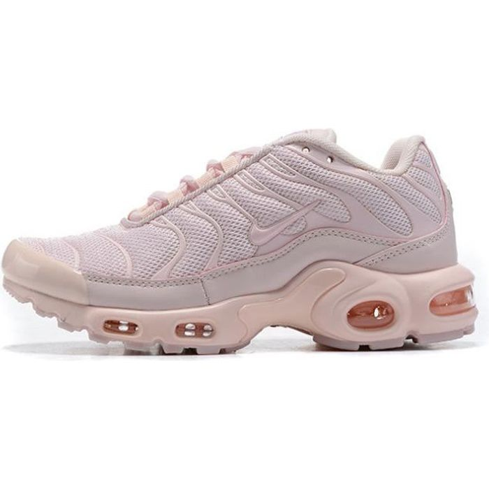Baskets NIKEs AIRs Max TN Plus Rose Femme Running Chaussures ...