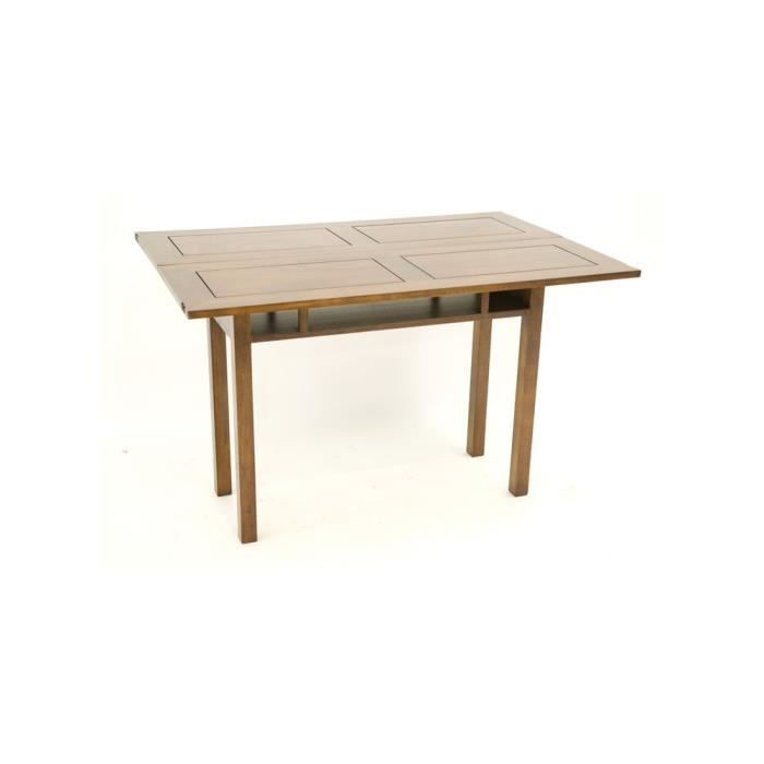 Console extensible en table repas h v a 120cm helena for Table extensible largeur