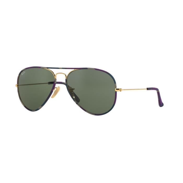 ray ban aviator femme taille 55