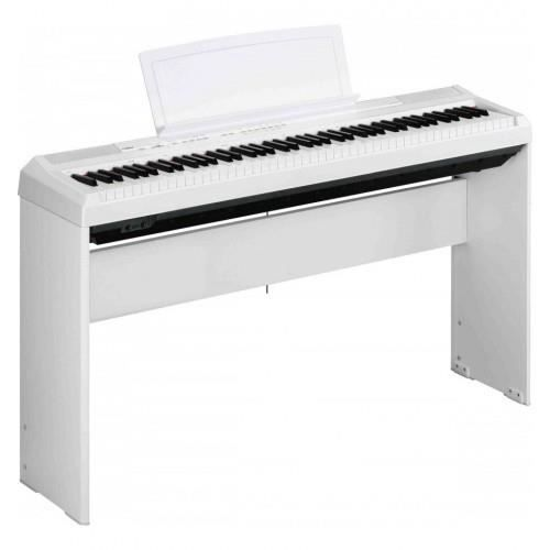 pack piano num rique yamaha p115 blanc support l85 pas. Black Bedroom Furniture Sets. Home Design Ideas