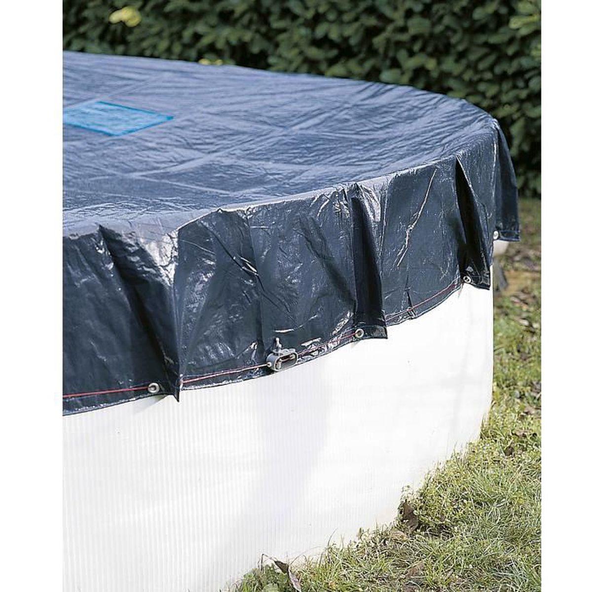 Bâche de protection Werkapro pour piscine hors sol ronde Ø10;10m