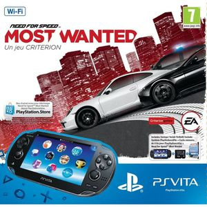 CONSOLE PS VITA PACK PS VITA WIFI NEED FOR SPEED MOST WANTED
