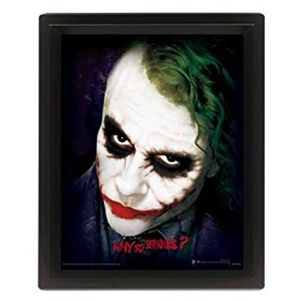 Cadre 3D Batman Dark KnightLenticulaire why so serious