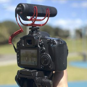 MICROPHONE Microphone de bord embarqué sur support de Caméra