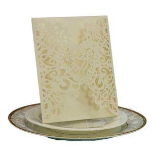 FAIRE-PART - INVITATION Enveloppe de carte d'invitation de mariage romanti