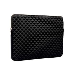 HOUSSE PC PORTABLE Etui Stereo Grid PU Résistant aux chocs pour 13.3
