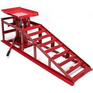 RAMPE POUR CHARGEMENT Rampe de levage jacks hydrauliques 2000kg réglable