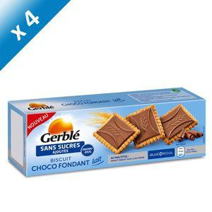 BISCUITS SECS GERBLE Biscuits et tablettes de chocolat au lait -