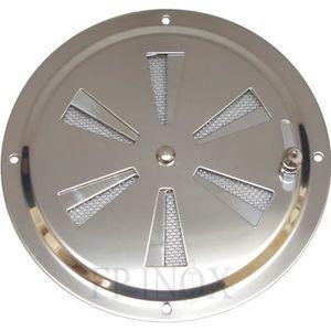 KOTARBAU Grille da/ération ronde en acier inoxydable 100 mm