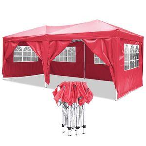 TONNELLE - BARNUM Tente de réception 3 x 6 m en Toile Oxford 210D à
