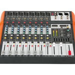 TABLE DE MIXAGE IBIZA SOUND MX802 Table de mixage musique 8 canaux