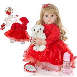 POUPÉE 60CM bébé Reborn poupée élégant Reborn bébé poupée