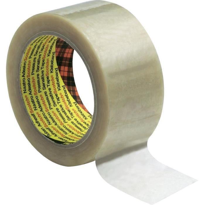 Rubans adhésifs d'emballage Scotch® 6890 PVC (L…
