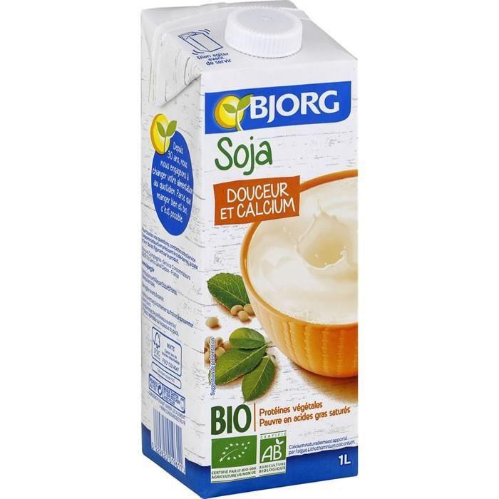 BJORG : Boisson bio à base de Soja UHT 1 L