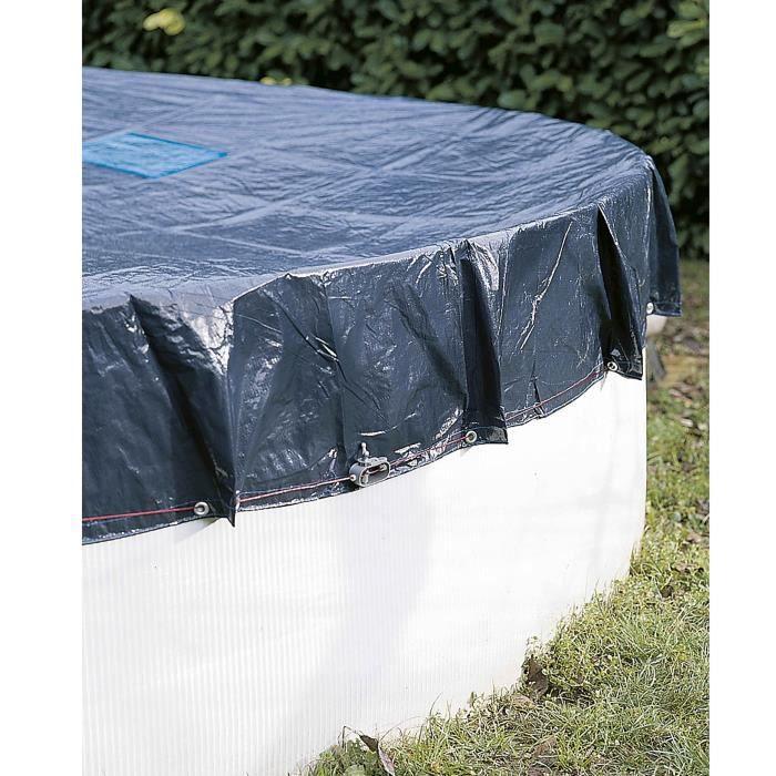 Bâche de protection Werkapro pour piscine hors sol ronde Ø420m pour piscine Ø36m