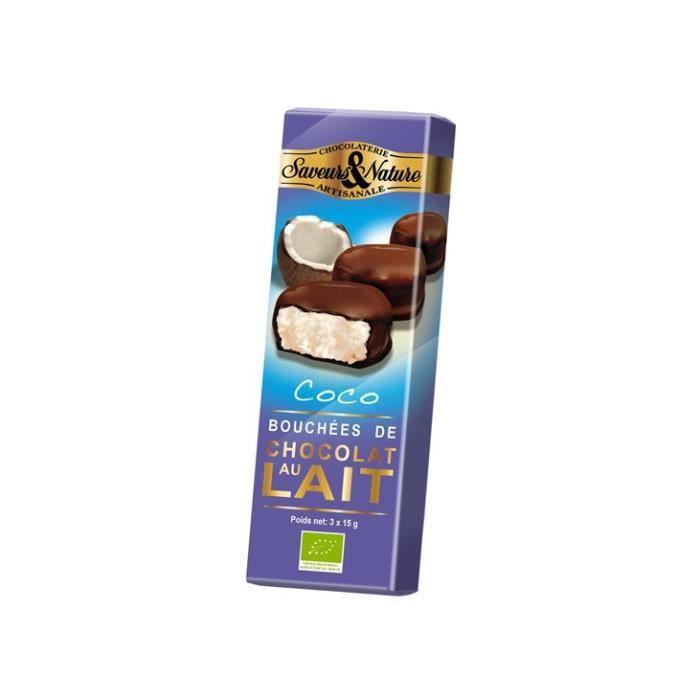 Saveurs & nature - Bouchées noix de coco (3x15gr)