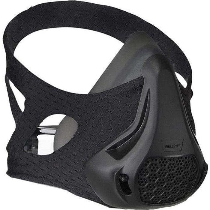 Entraînement à haute Altitude de masque de forme physique professionnel d'entraînement de masque de - Modèle: Black - HSJSZHA09808