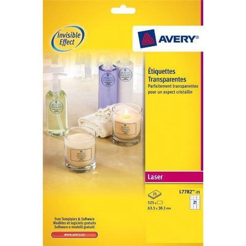 AVERY - L7782-25 - 525 étiquettes adhésives tra…