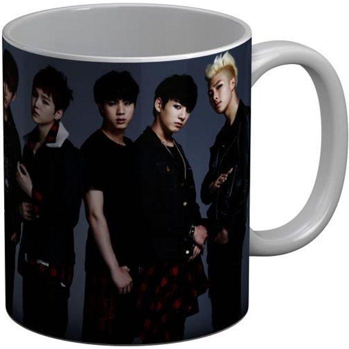 Mug Céramique BTS Danger Jimin Jeon Jungkook Kpop Stars Coree