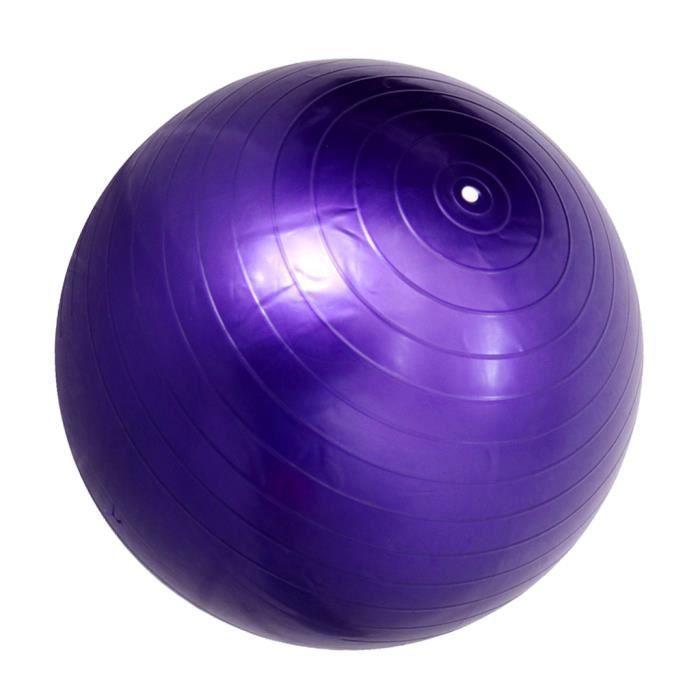 45/85cm Doux Balle de Massage Ballon 2mm d'Épaisseur pour Yoga Corriger Posture Masseur Soulagement du Stress 45cm Violet